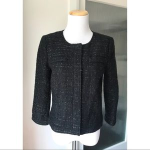 Tweed jacket by Laundry by Shelli Segal